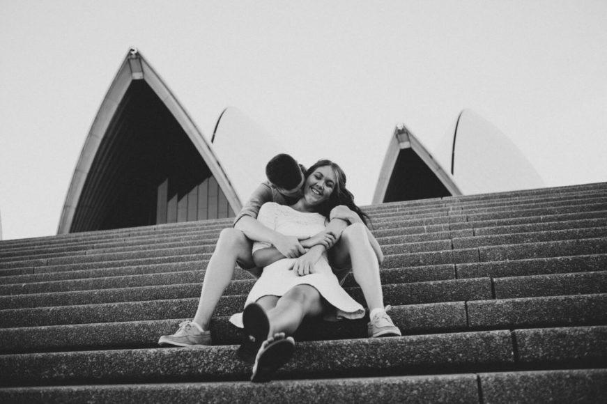 sydney engagement shoot