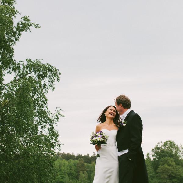 Bröllop vid Ingarö Kyrka