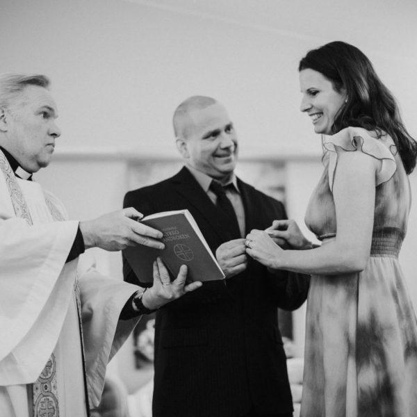 Bröllop på Arlanda