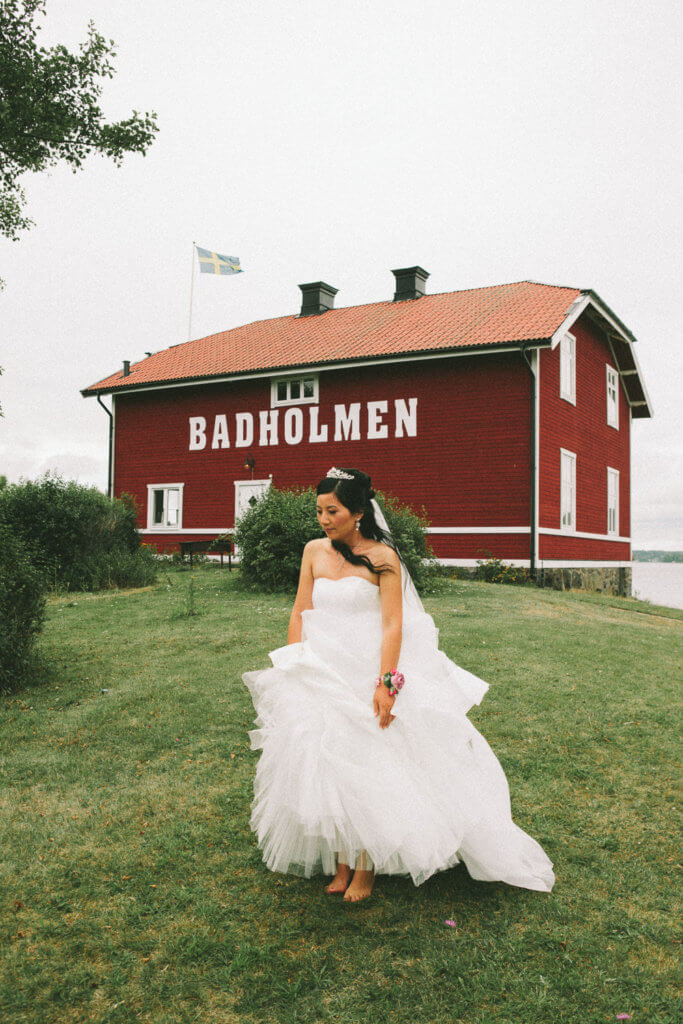 badholmen wedding